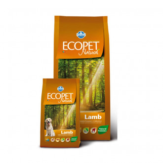 Farmina Ecopet Natural для собак крупных пород (ягненок) 12 кг