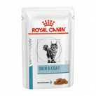 Royal Canin консервы для кошек диета Скин Коат пауч 100 г