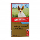 Advantix 100 капли инсектоакарицидные для собак 4-10 кг 1 пипетка