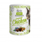 Brit Care Superfruits лакомство для кошек (курица с облепихой и голубикой) 100 г